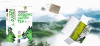 Organic Fairtrade Green Tea by Green Boar - Box of 25 tea bags 50g