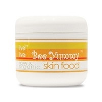 Bee Yummy raw organic skin food by live live Small Sample Pot