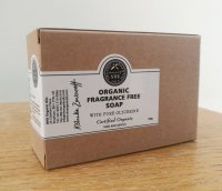 Organic Children's Soap (Fragrance Free)