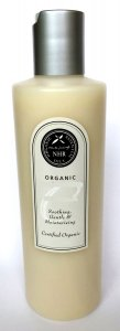 Organic Moisturising Cream with Organic Rose