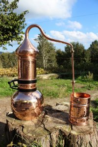 Beautiful 5 Litre Copper Essential Oil Still Distillation Kit
