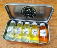 Organic Base Oil Sample Pack 5 x 10ml bottles (Pack 1)