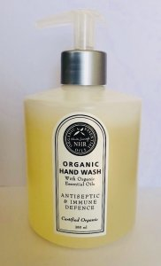 Organic Antiseptic & Immune Defence Hand Wash liquid soap Size large