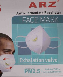 KN95 Mask with valve Pack of x5 masks