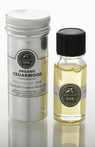 Organic Cedarwood Essential Oil (Cedrus atlantica)