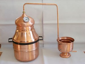 Beautiful Very Large 23 Litre Copper Essential Oil Still Distillation Kit